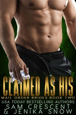 Claimed As His by Jenika Snow, Sam Crescent