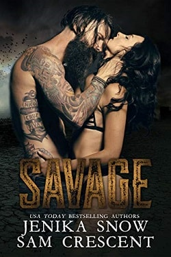 Savage (The End 1) by Jenika Snow, Sam Crescent.jpg