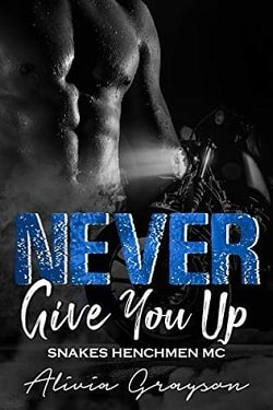 Never Give You Up (Snakes Henchmen MC 4) by Alivia Grayson