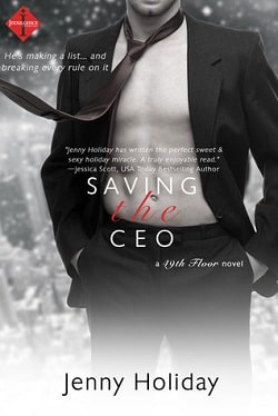 Saving the CEO (49th Floor 1) by Jenny Holiday